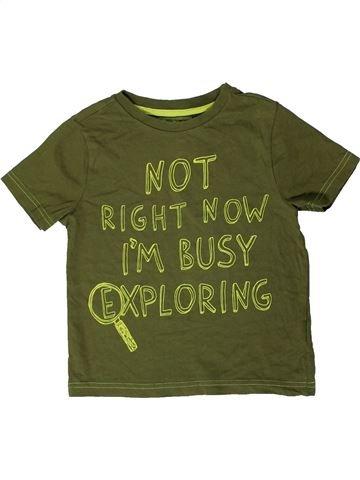 Camiseta de manga corta niño F&F verde 6 años verano #1403782_1