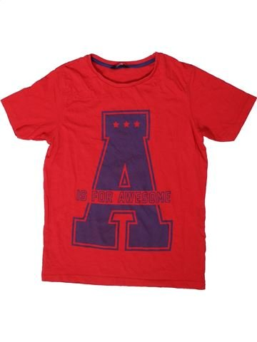 Camiseta de manga corta niño GEORGE rojo 13 años verano #1403827_1