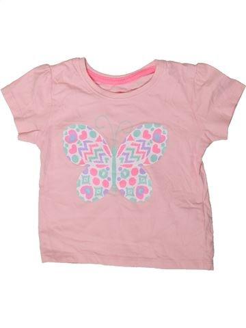 T-shirt manches courtes fille PRIMARK rose 3 ans été #1403833_1