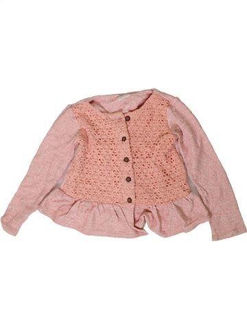 Sweat fille F&F rose 2 ans hiver #1403900_1