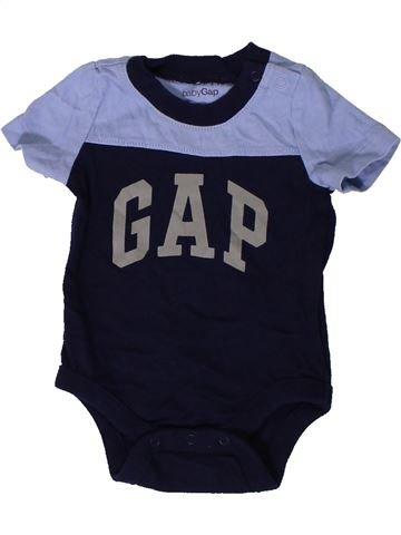 Camiseta de manga corta niño GAP gris 3 meses verano #1403901_1
