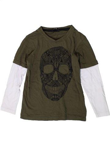 T-shirt manches longues garçon GEORGE marron 6 ans hiver #1403941_1