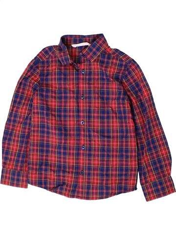 Camisa de manga larga niño H&M violeta 7 años invierno #1403962_1