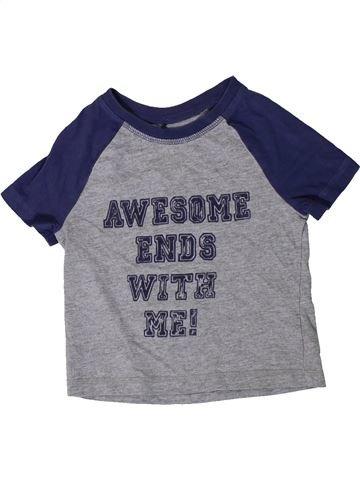 Camiseta de manga corta niño GEORGE gris 3 años verano #1404000_1