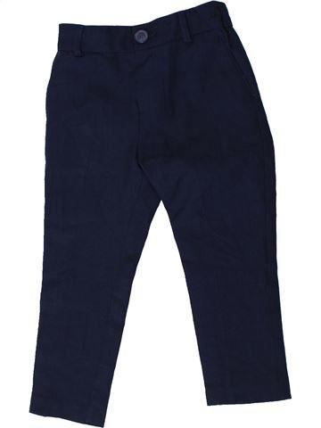 Pantalon garçon F&F noir 2 ans hiver #1404019_1