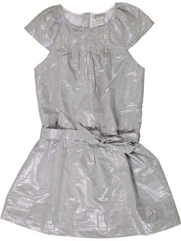 Robe fille CYRILLUS gris 10 ans hiver #1404064_1