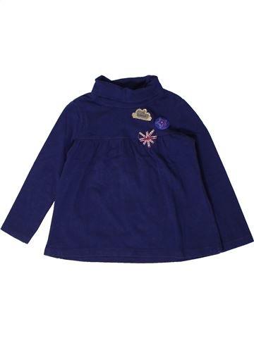Camiseta de cuello alto niña LA COMPAGNIE DES PETITS azul 3 años invierno #1404291_1
