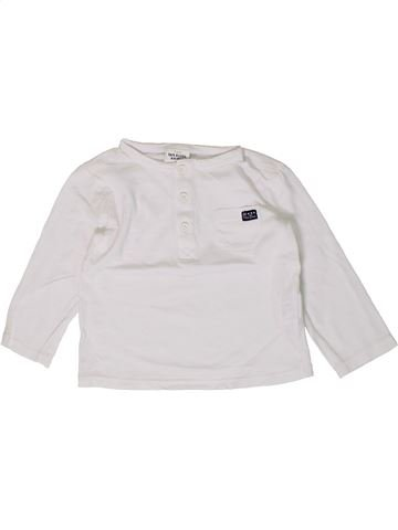 Camiseta de manga larga niño TAPE À L'OEIL blanco 18 meses invierno #1404303_1