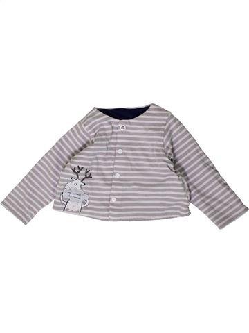 Sudadera niño MARÈSE gris 6 meses invierno #1404532_1