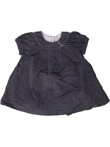 Vestido niña PETIT BATEAU gris 6 meses invierno #1404722_1