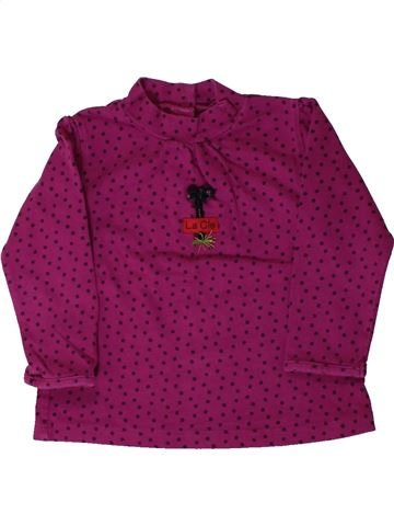 Camiseta de cuello alto niña LA COMPAGNIE DES PETITS violeta 2 años invierno #1405235_1