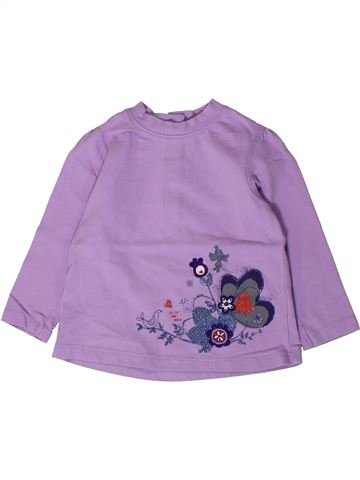 Camiseta de manga larga niña LA COMPAGNIE DES PETITS violeta 2 años invierno #1405236_1