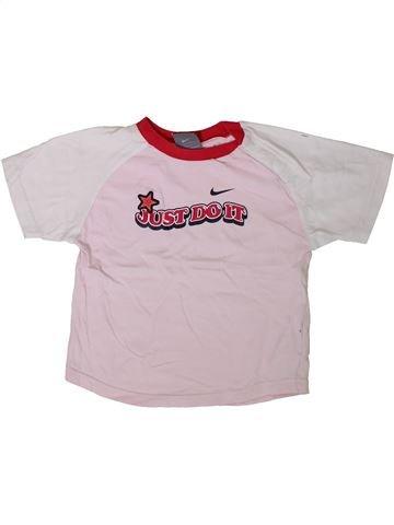 T-shirt manches courtes fille NIKE rose 3 ans été #1406550_1