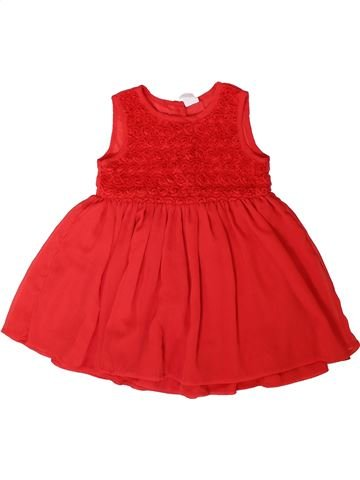 Robe fille H&M rouge 2 ans hiver #1406600_1