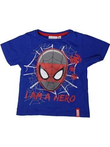 Camiseta de manga corta niño SUPERS HÉROS azul 3 años verano #1406742_1