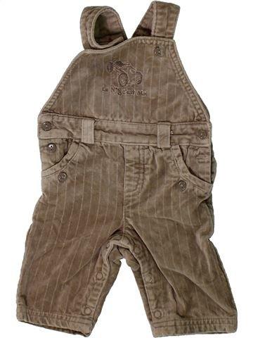 Mono niño TOUT COMPTE FAIT marrón 3 meses invierno #1406868_1