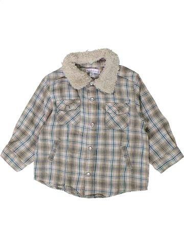 Chemise manches longues garçon KIABI gris 12 mois hiver #1407007_1