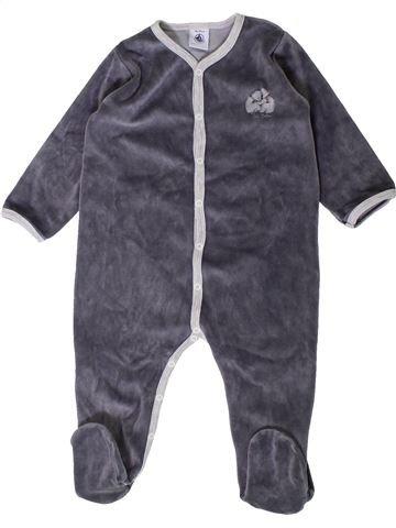 Pijama de 1 pieza niño PETIT BATEAU gris 18 meses invierno #1407456_1