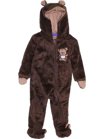 Mono-polar niño LUPILU marrón 6 meses invierno #1408909_1