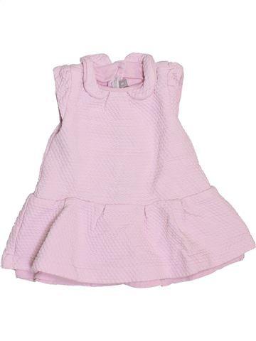 Vestido niña ABSORBA rosa 9 meses verano #1409630_1