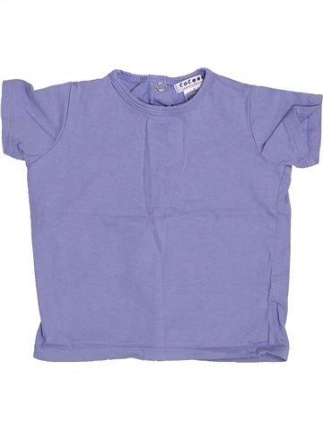 T-shirt manches courtes garçon LA REDOUTE CRÉATION bleu 18 mois été #1409980_1