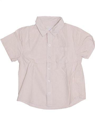 Chemise manches courtes garçon OKAIDI violet 3 ans été #1411137_1