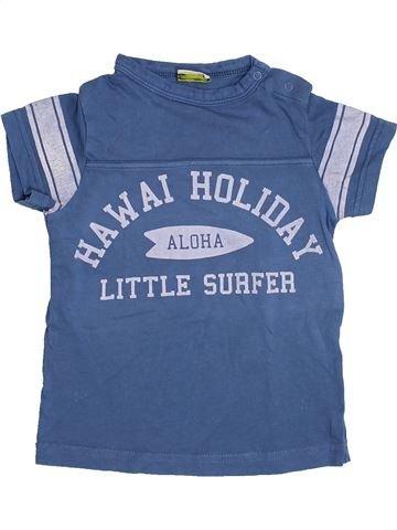 T-shirt manches courtes garçon TAPE À L'OEIL bleu 2 ans été #1411249_1