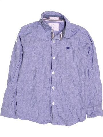 Chemise manches longues garçon JASPER CONRAN bleu 9 ans hiver #1412542_1