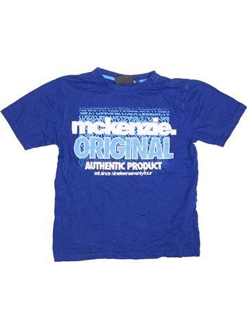 T-shirt manches courtes garçon MCKENZIE bleu 12 ans été #1412660_1