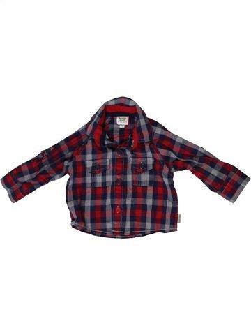 Chemise manches longues garçon TED BAKER marron 3 mois hiver #1413718_1