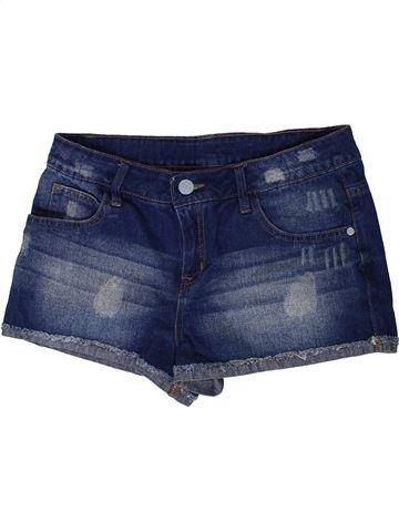 Short - Bermuda fille MISS E-VIE bleu 14 ans été #1414220_1