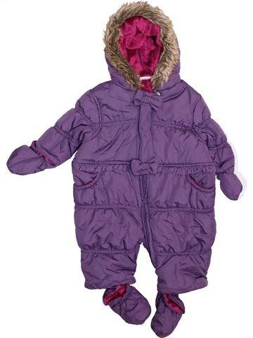 Combi-Pilote fille MINICLUB violet 3 mois hiver #1414565_1