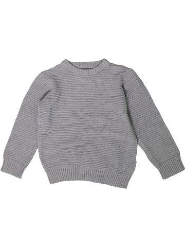 jersey niño BLUEZOO gris 5 años invierno #1414576_1