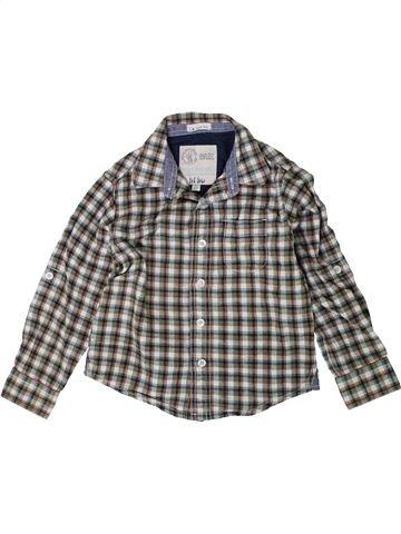 Chemise manches longues garçon FAT FACE gris 5 ans hiver #1414628_1