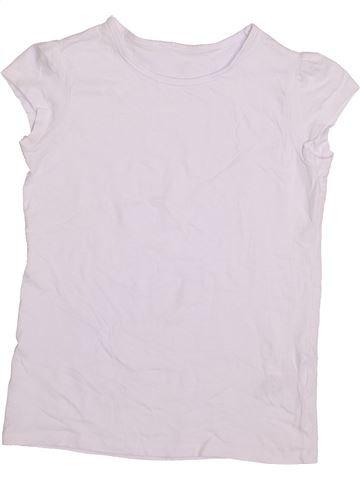 T-shirt manches courtes fille SCHOOL LIFE blanc 9 ans été #1415005_1