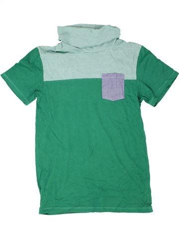 Camiseta de manga corta niño DEBENHAMS verde 13 años verano #1416037_1