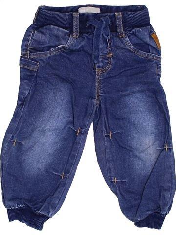 Pantalon garçon NAME IT bleu 12 mois hiver #1416768_1