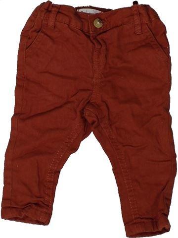 Pantalon garçon LA REDOUTE CRÉATION rouge 6 mois hiver #1417379_1