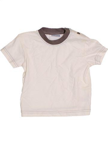 T-shirt manches courtes garçon CHEROKEE blanc 9 mois été #1417515_1