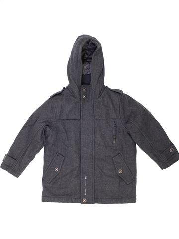 Manteau garçon NEXT gris 4 ans hiver #1417670_1