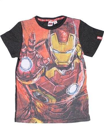 T-shirt manches courtes garçon SUPERS HÉROS rose 11 ans été #1417702_1