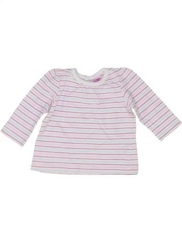 T-shirt manches longues fille CHEROKEE blanc 1 mois hiver #1417706_1
