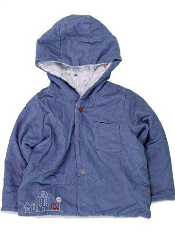 Chaqueta niño MARKS & SPENCER azul 9 meses invierno #1418499_1