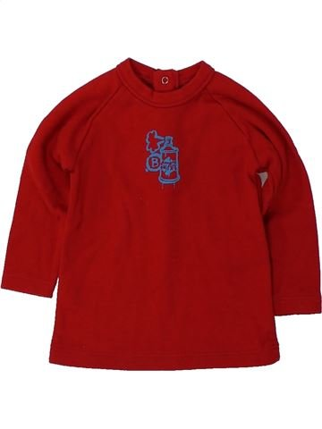 Camiseta de manga larga niño BENETTON rojo 6 meses invierno #1418580_1