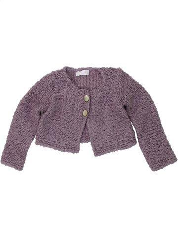 Gilet fille CLAYEUX violet 2 ans hiver #1418646_1
