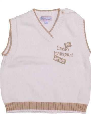 jersey niño PREMAMAN blanco 12 meses invierno #1418647_1