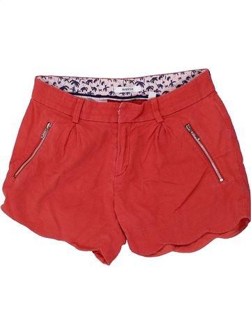 Short-Bermudas niña MARÈSE rojo 12 años verano #1418909_1