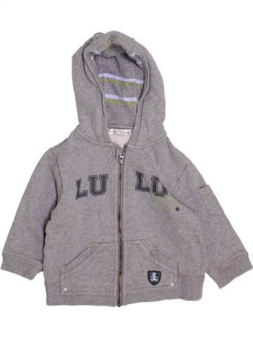 Sweat fille LULU CASTAGNETTE gris 18 mois hiver #1418983_1