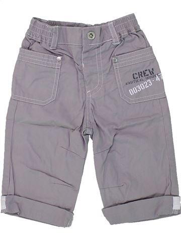 Pantalón niño GEMO gris 6 meses verano #1419111_1