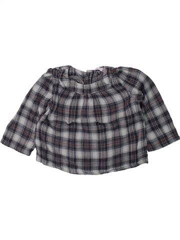 Blusa de manga larga niña CFK gris 3 años invierno #1419201_1